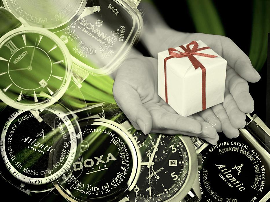 Prezent na czasie – grawerowany zegarek!