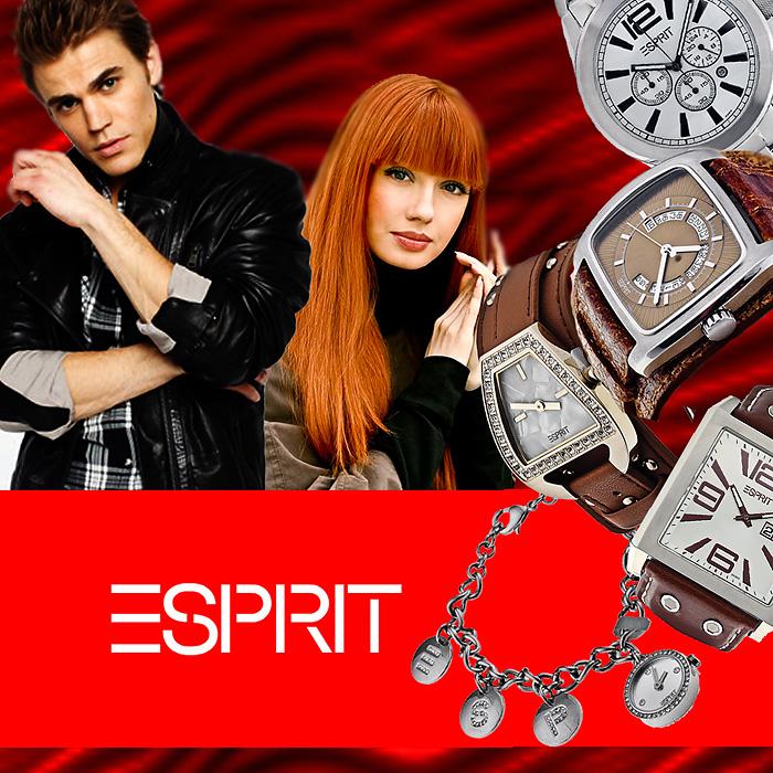 Zegarki Esprit- nie pozwolą wmieszać się w tłum!