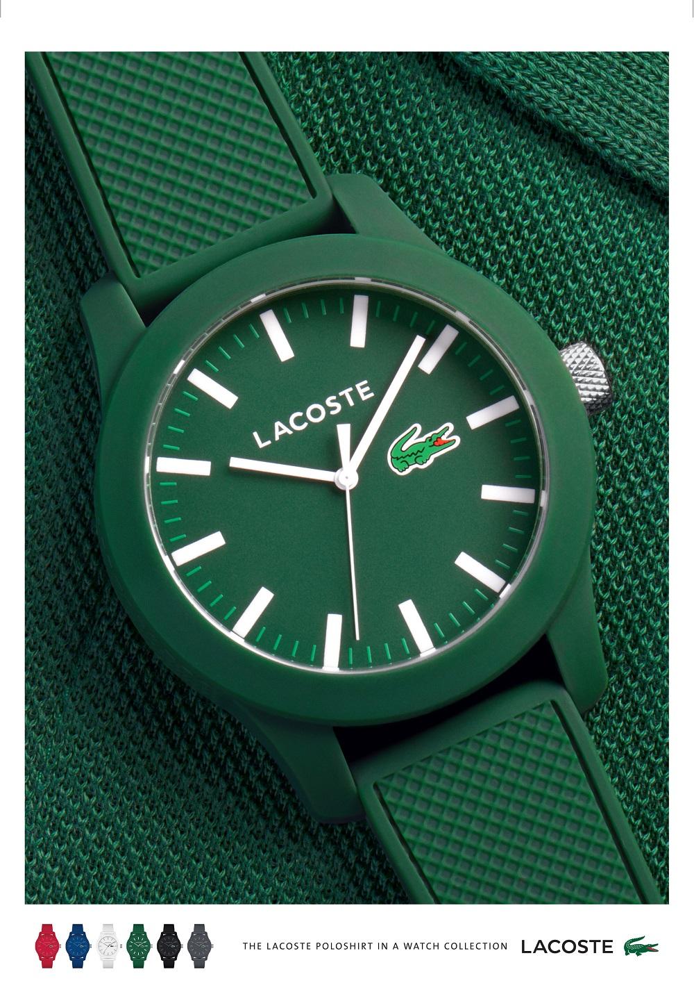 Koszulka polo jako inspiracja nowej kolekcji zegarków Lacoste!
