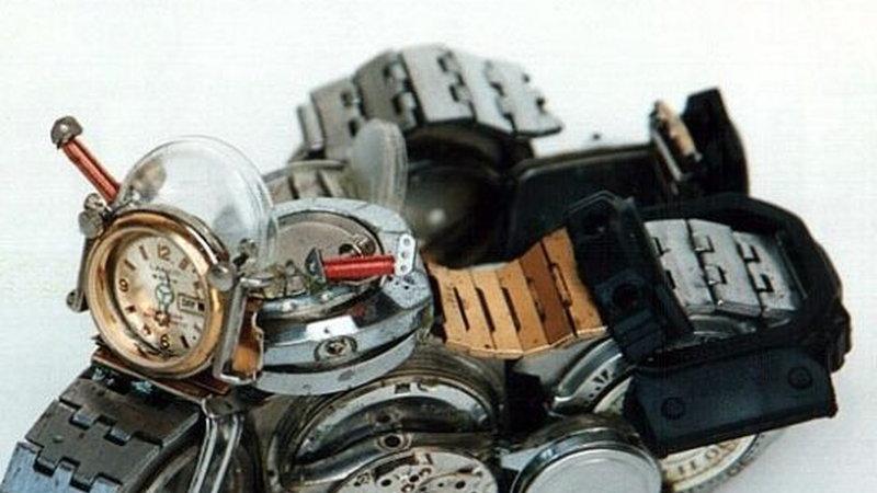 Czego nie robić z zegarkiem?