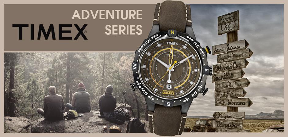 TIMEX IQ Adventure. Przygoda w zasięgu ręki!