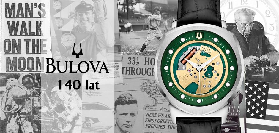 140 lat historii marki Bulova!