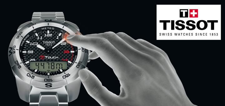 Zegarki dotykowe Tissot T-Touch!