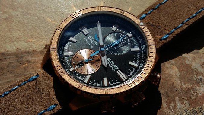 Unikatowy zegarek z brązu!