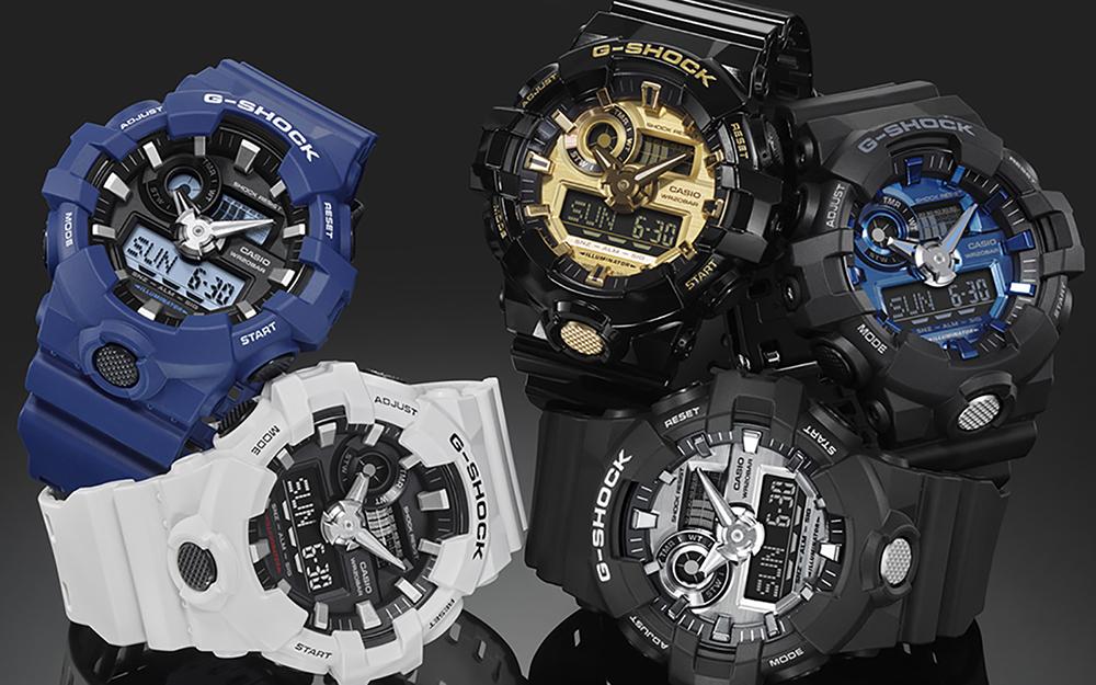 Tradycja w nowoczesnym wydaniu, czyli najnowsze modele od G-Shock!