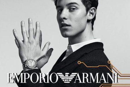 Modny mężczyzna z Emporio Armani!