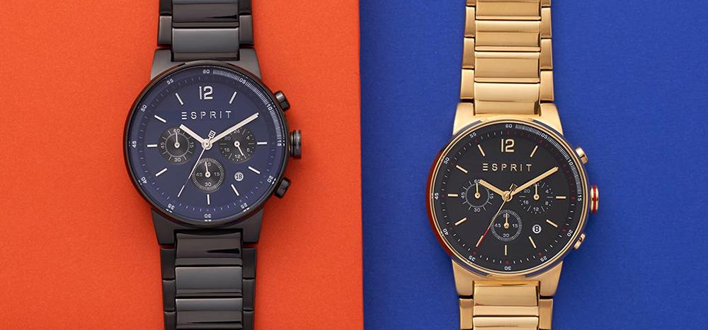 Męskie zegarki Esprit w sportowym wydaniu!