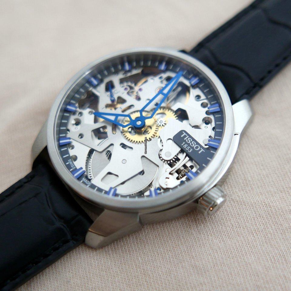 zegarek mechaniczny Tissot