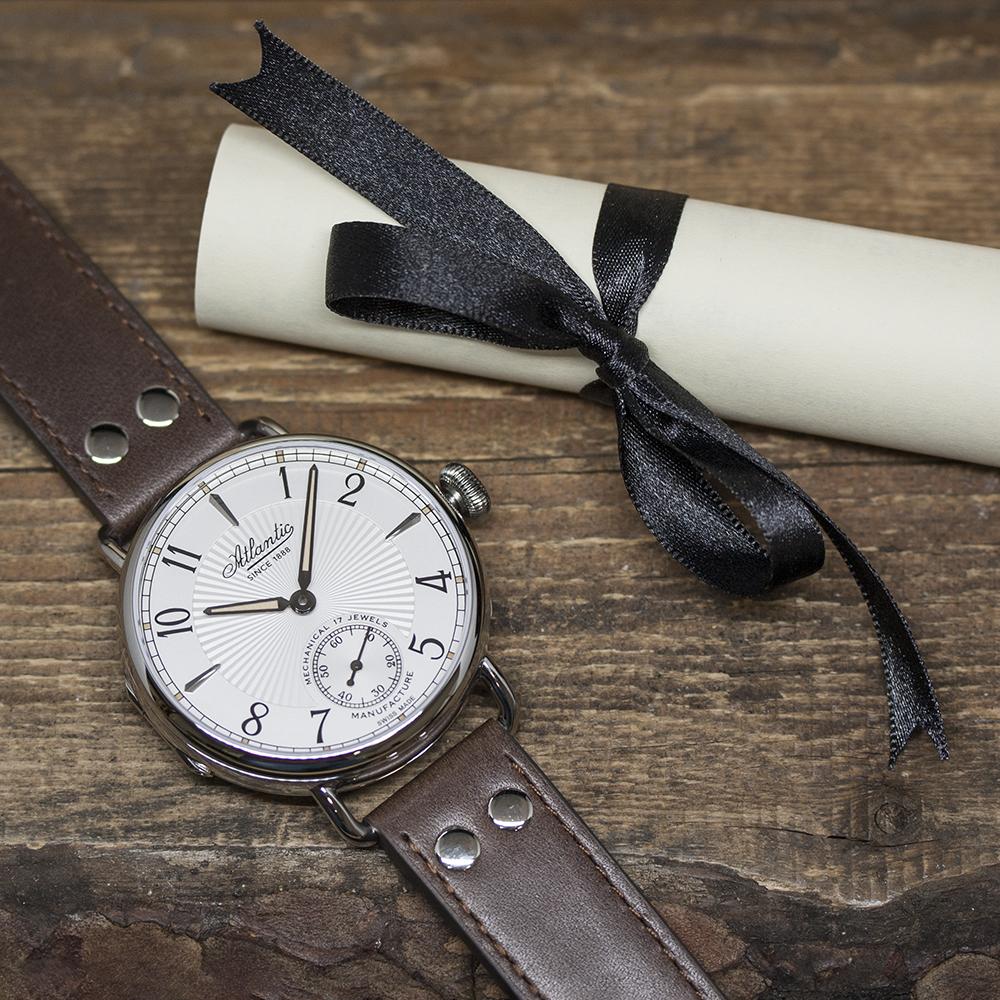 limitowane zegarki mechaniczne Atlantic