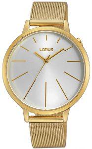 pozłacany damski zegarek Lorus