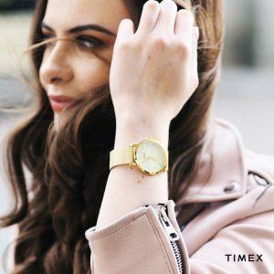 zegarek Timex na bransolecie mesh