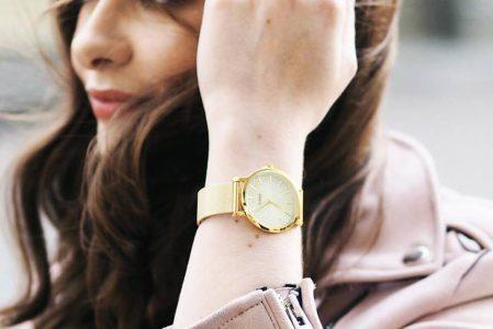 Pozłacane zegarki damskie – top 5 !